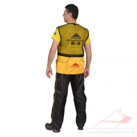 IGP Dog Training Vest for Handlers with Pockets for Treats/Toys