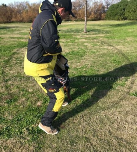 Water-repellent K9 Dog Training Suit with a Hood