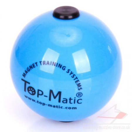 Top Matic Dog Ball UK New Design - Magnet Ball for Dog Training