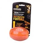 Crunchy Dog Chew Toy 'FootBall' for Treats Dispensing