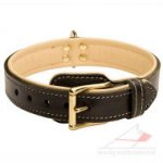 Soft Leather Dog Collar | Luxury Dog Collar