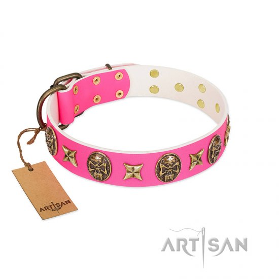 Pink Dog Collar FDT Artisan