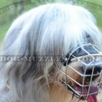 Wire Dog Muzzle for South Russian Shepherd