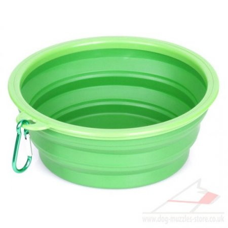 Portable Dog Bowl For Walks | Folding Dog Bowl