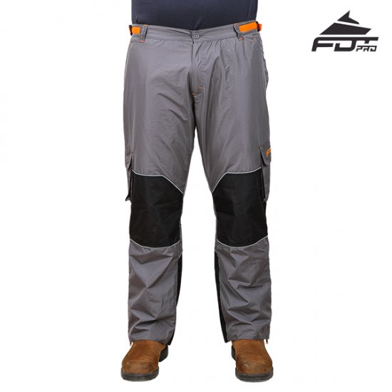 Best Dog Training Pants FDT Pro of Dark Grey Colour