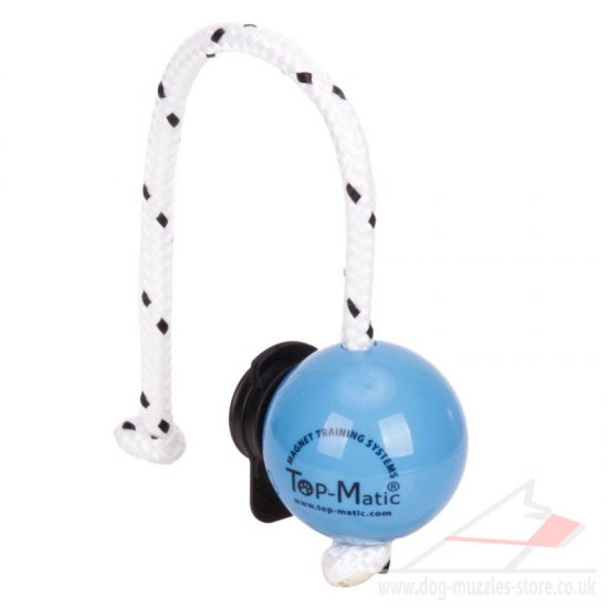 Magnetic Dog Training Ball on Rope & MULTI Power Clip