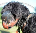 Black Russian Terrier Dog Muzzle for Service Dog