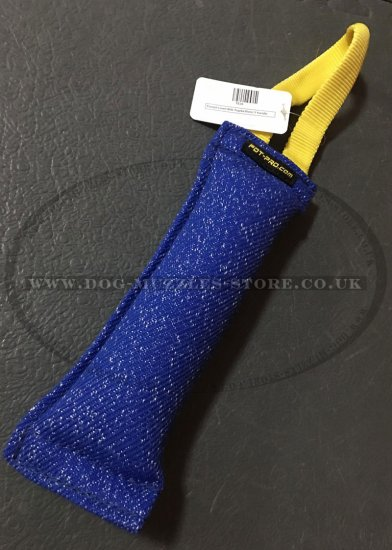 Puppy or Young Dog Bite Tug with Soft Nylon Handle