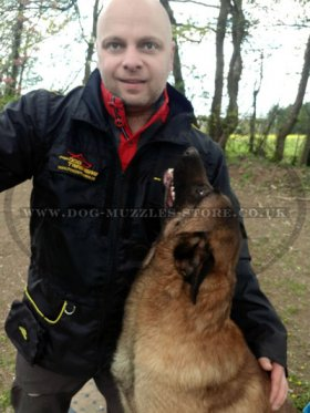 Waterproof Nylon Jacket for Dog Training
