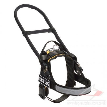 """Special Friend"" Reliable Service Dog Harness With Bridge Handle"