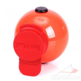 "Hard Large Plastic Dog Ball | Top Matic ""Technic"" Ball ø 2.7 in"