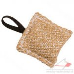 Puppy Training Jute Bite Pad | Small Dog Toy Jute