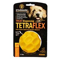 Tetraflex Dog Chewing Toy for Active Dog Feeding and Chewing, 4\