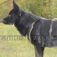 Dog Harness for German Shepherd Royal Look and Comfort