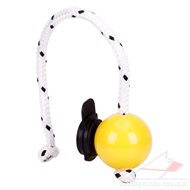 TOP MATIC Soft Magnet Ball for Dog Training with Black Clips