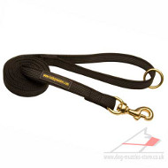 Walking Dog Leash With Rubberized Stitching- Anti-Glide
