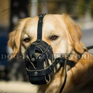 Light, Soft and Super Ventilated Dog Muzzle for Golden Retriever