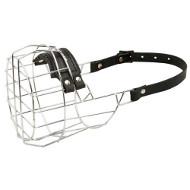SUPER VENTILATED DOG MUZZLE FOR DALMATIAN