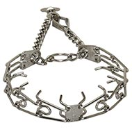 Buy Herm Sprenger Prong Collar with Quick Snap, 3 mm Chrome