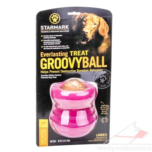 everlasting dog toy treats dispenser