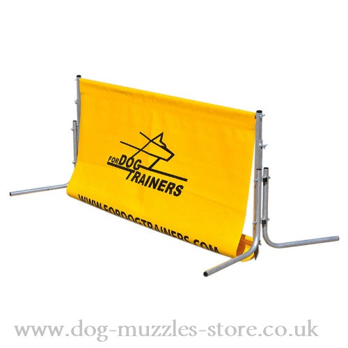 Dog Barrier for Agility Training