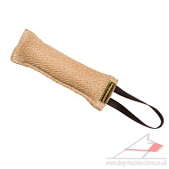 Dog Bite Tug Jute with 1 Handle for Interactive Dog Games