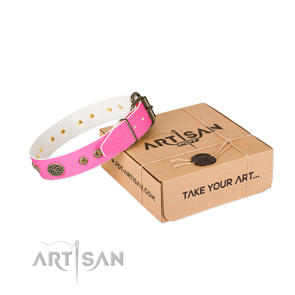A Pink Dog Collar UK