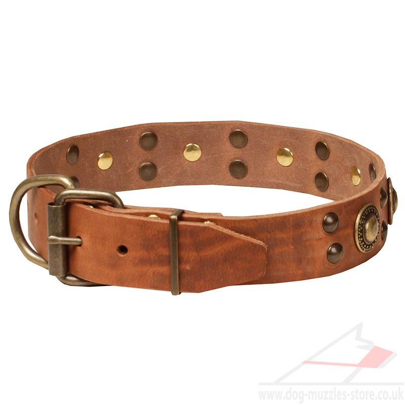 Luxury Leather Dog Collar Designer Dog Collar New 2015