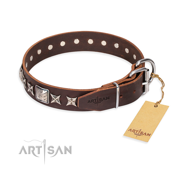 Studed Dog Collar buy uk