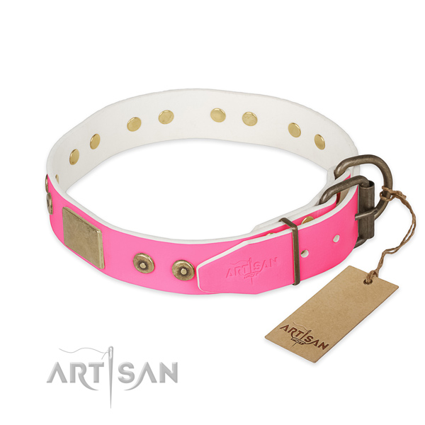 Pink Dog Collar buy uk