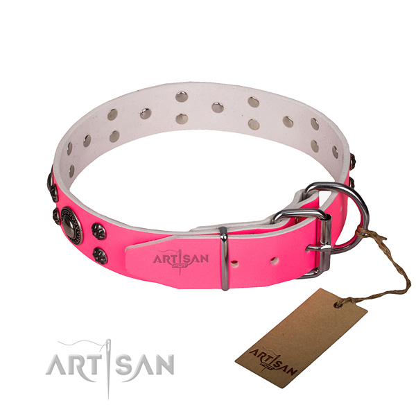 Pink Collar for Dog buy uk