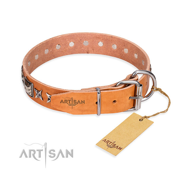 Leather Dog Collar buy uk