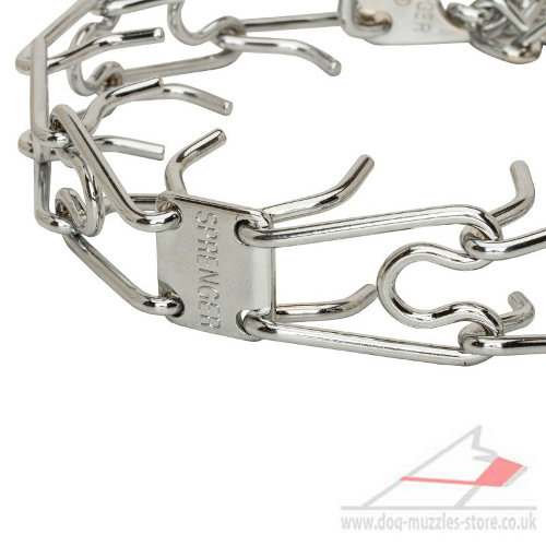 Buy Herm Sprenger Chrome Prong Collars UK