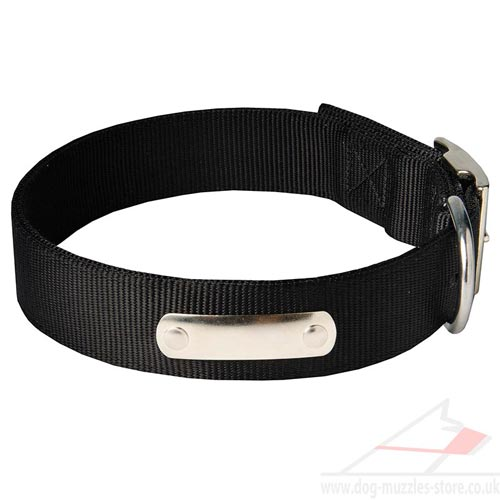 ID dog collar personalized