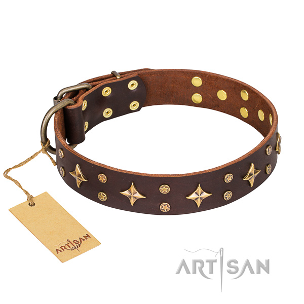 handcrafted dog collar for sale