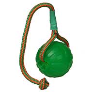 NEW Dog Ball with Rope - Perfect Dog Fetch Toy for Playing 3.5""