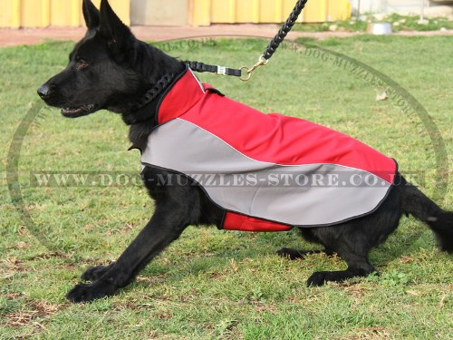 Extra Warm Dog Coat for German Shepherd Dog