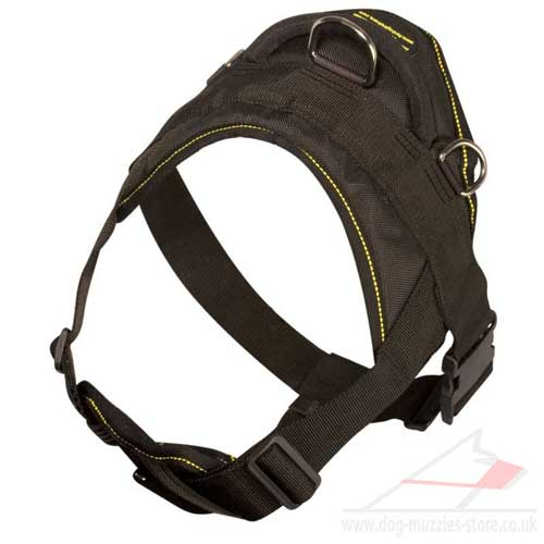 strong nylon dog harness
