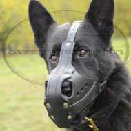 K9 Dog Muzzle for Police Dogs, Perfect for GSD!!!
