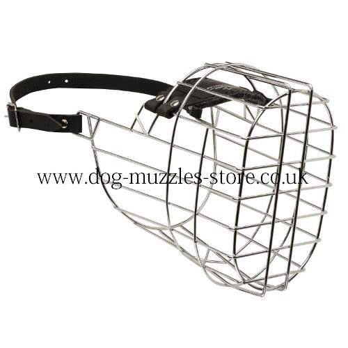 Wire Dog Muzzle for Great Dane Dog Size