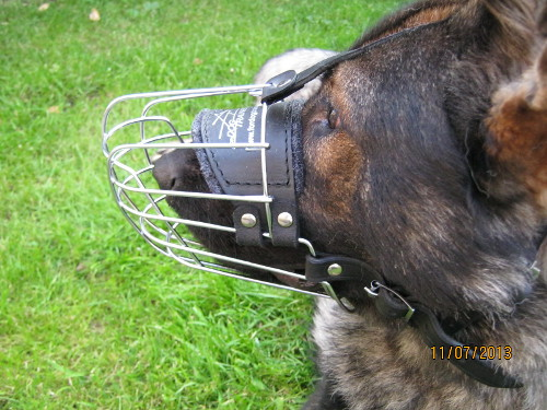 German Shepherd Muzzles for Dogs for Sale UK