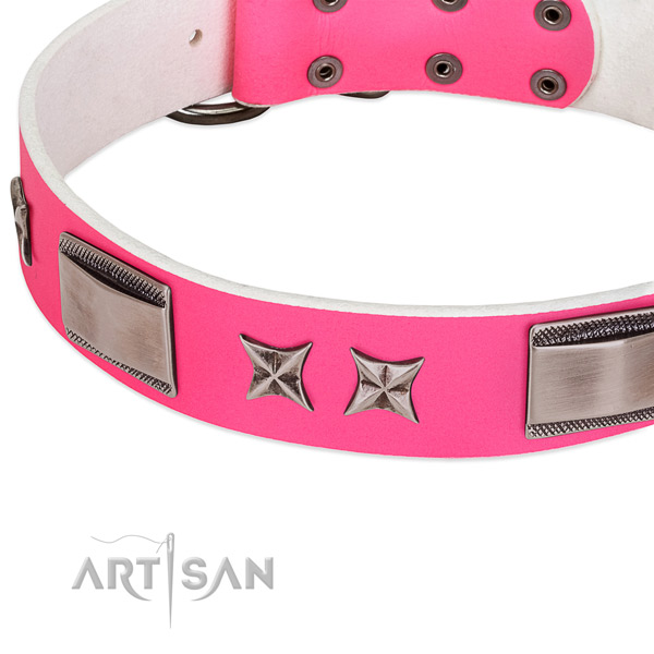 cute girly dog collar Artisan