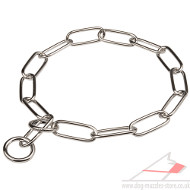 Fur Saver Choke Chain Dog Collar | Herm Sprenger Collar