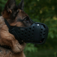 Closed K9 Dog Muzzle for German Shepherd Dog Training