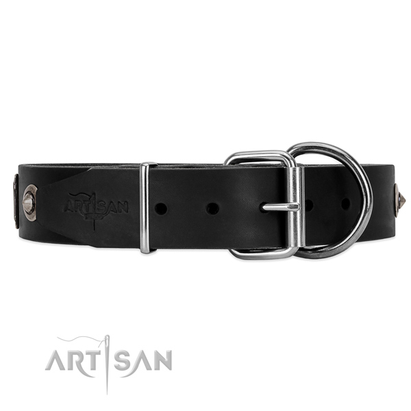 Heavy duty large dog collar Artisan