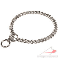 Large Dog Collar 4 mm Choke Chain | Dog Training Collar