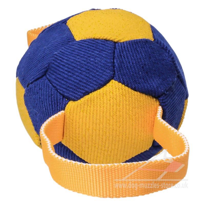 Indestructible Dog Tug Toy: Soft Indestructible Dog Ball - £14.50