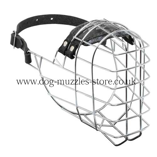 Large German Shepherd Muzzle Size | Basket Muzzle for GSD