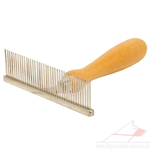 Dog Grooming Brush with Handle for Dog Hair Care