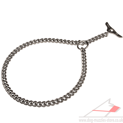 Choker Collar Chromium-Plated | Dog Choker Chain Herm Sprenger